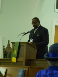 Rev. Earnest Parish