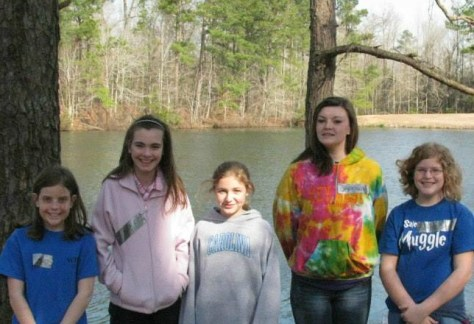 Middle School Retreat at Camp Kirkwood 2014