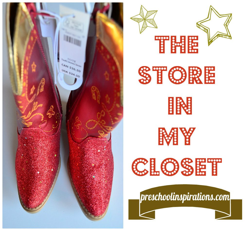 The Store in My Closet by Preschool Inspirations