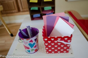 Friendship Letters by Preschool Inspirations