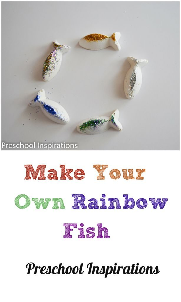 Make Your Own Rainbow Fish by Preschool Inspirations