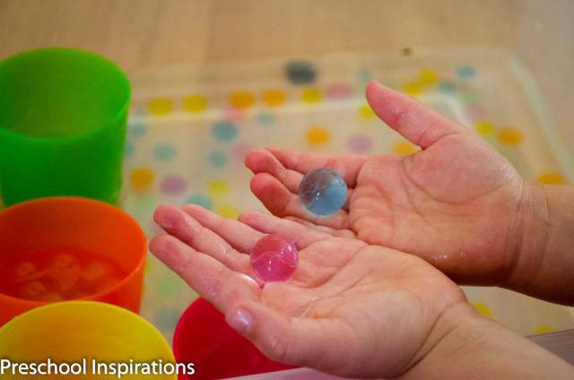 Water Bead Sorting ~ Preschool Inspirations-7