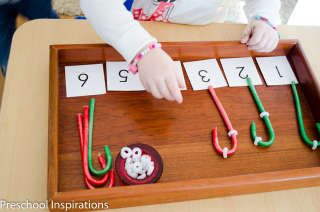 Candy Cane Stripe Counting by Preschool Inspirations-4