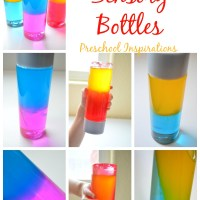 How to Make a Color Mixing Sensory Bottle