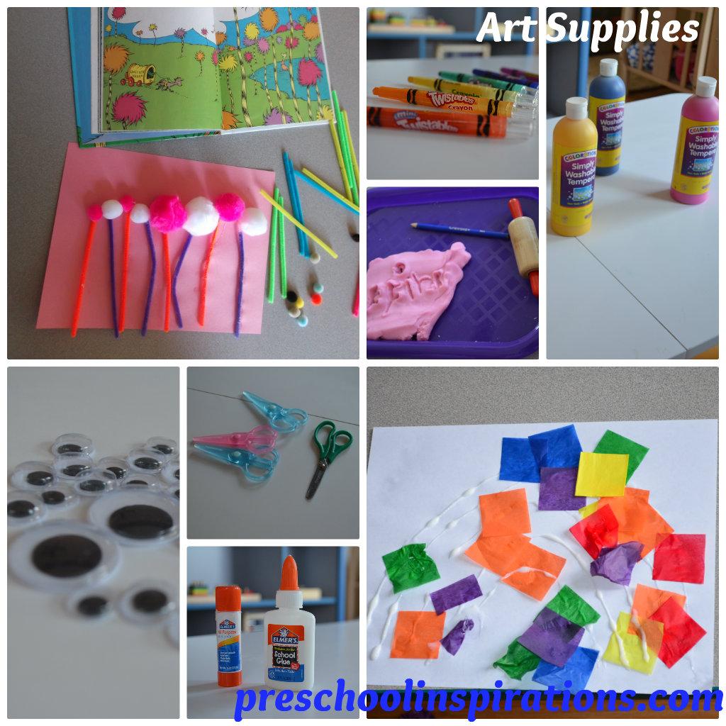 Art Supply Art Supply List For Preschool