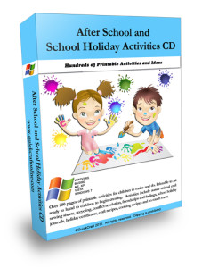 After school care activities for kids.