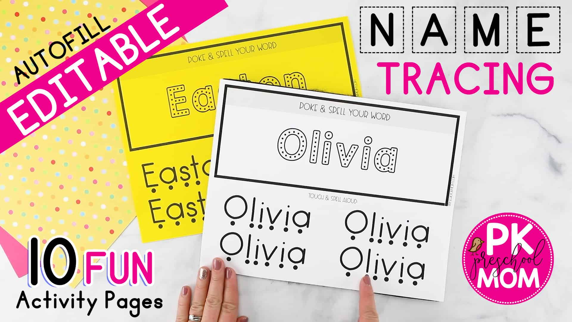 Name Tracing Worksheets