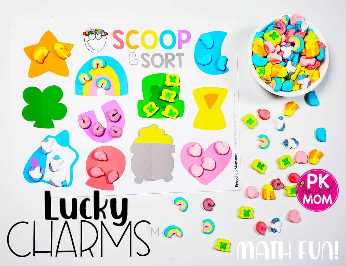 Lucky Charms Math Printables