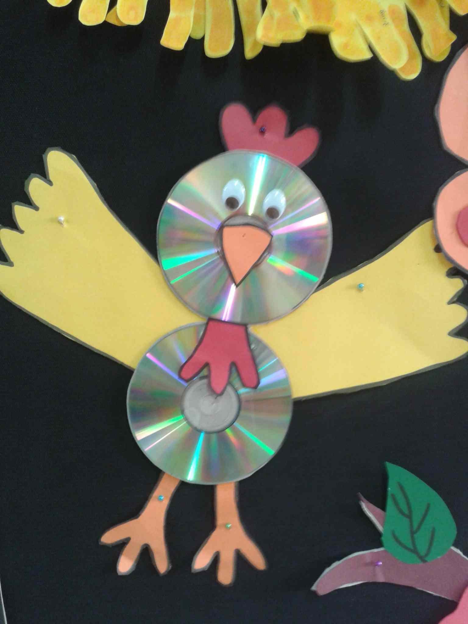 Cd Crafts For Kids Preschoolplanet
