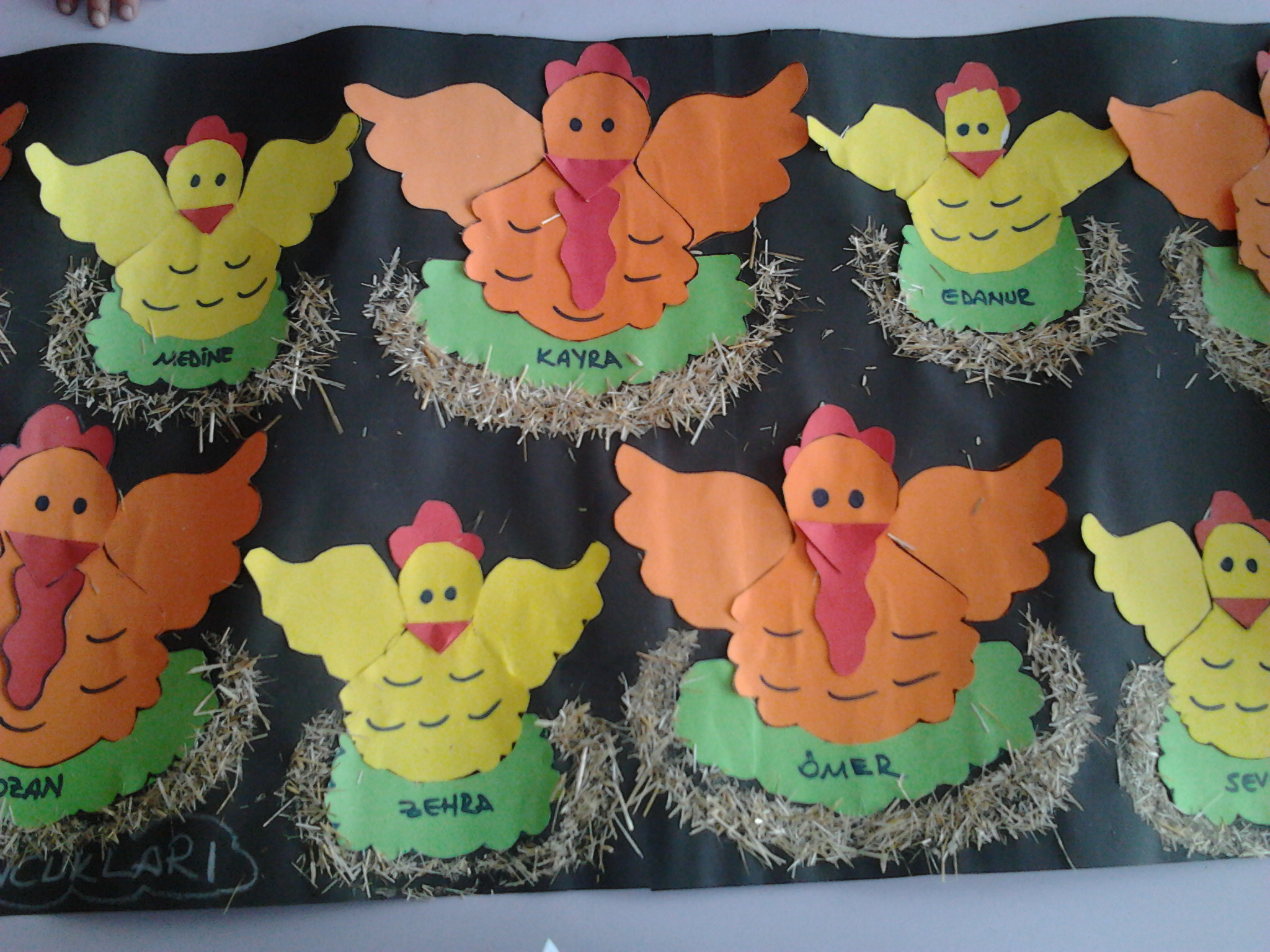 Hen Chicken Crafts Preschoolplanet