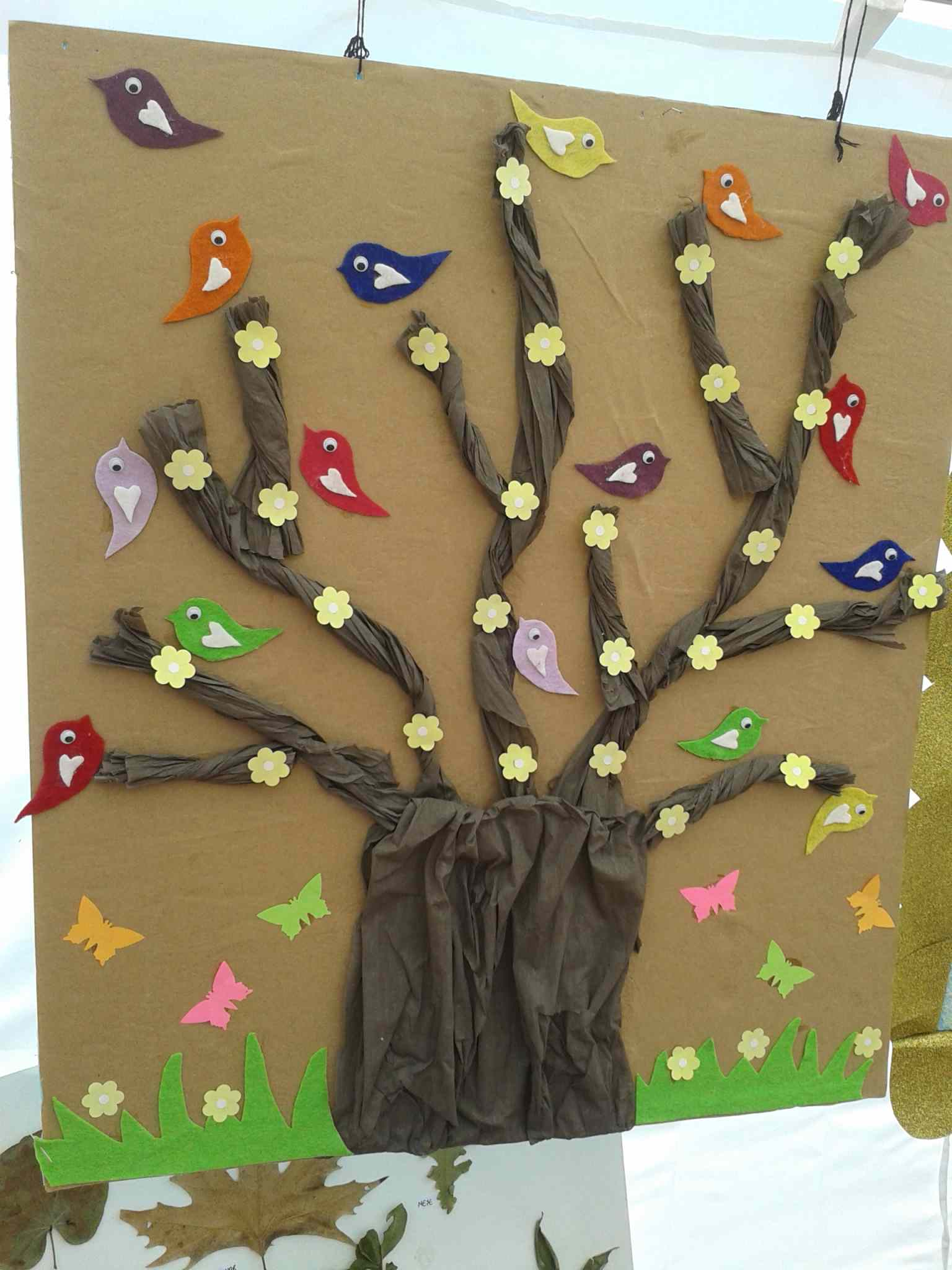 Bird Bulletin Board Idea For Spring Preschoolplanet