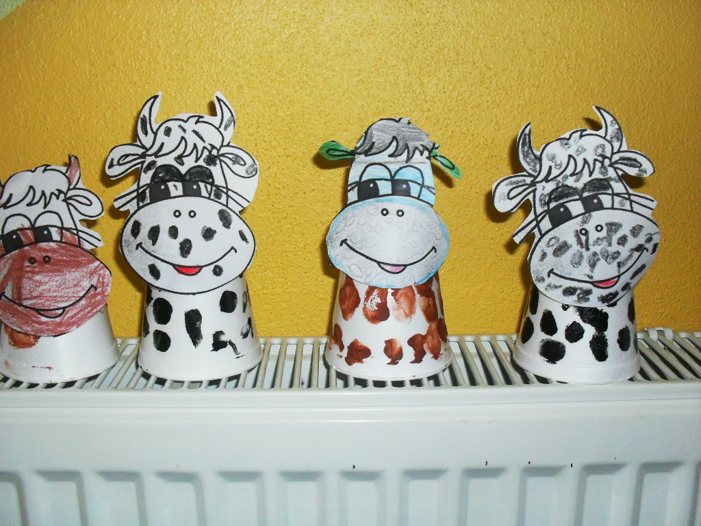 Cow Craft Preschoolplanet