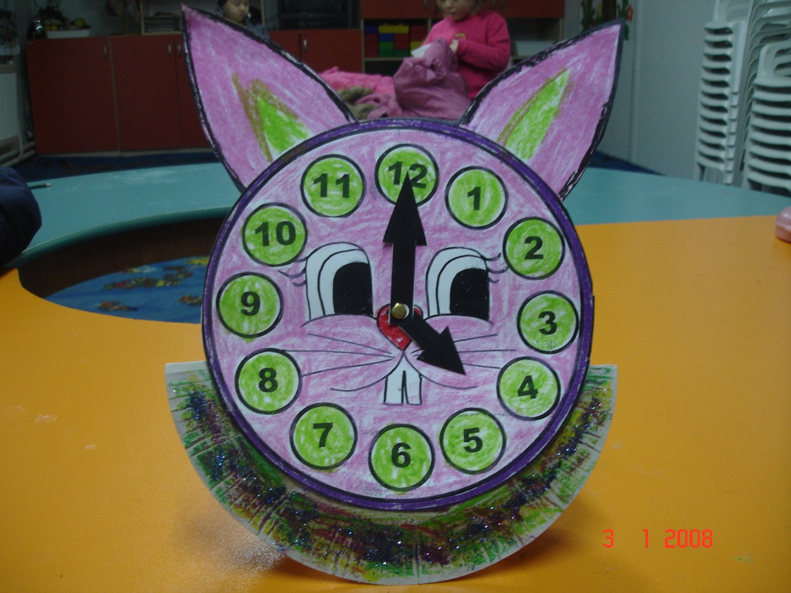 Clock Craft Idea For Preschool Kids Preschoolplanet