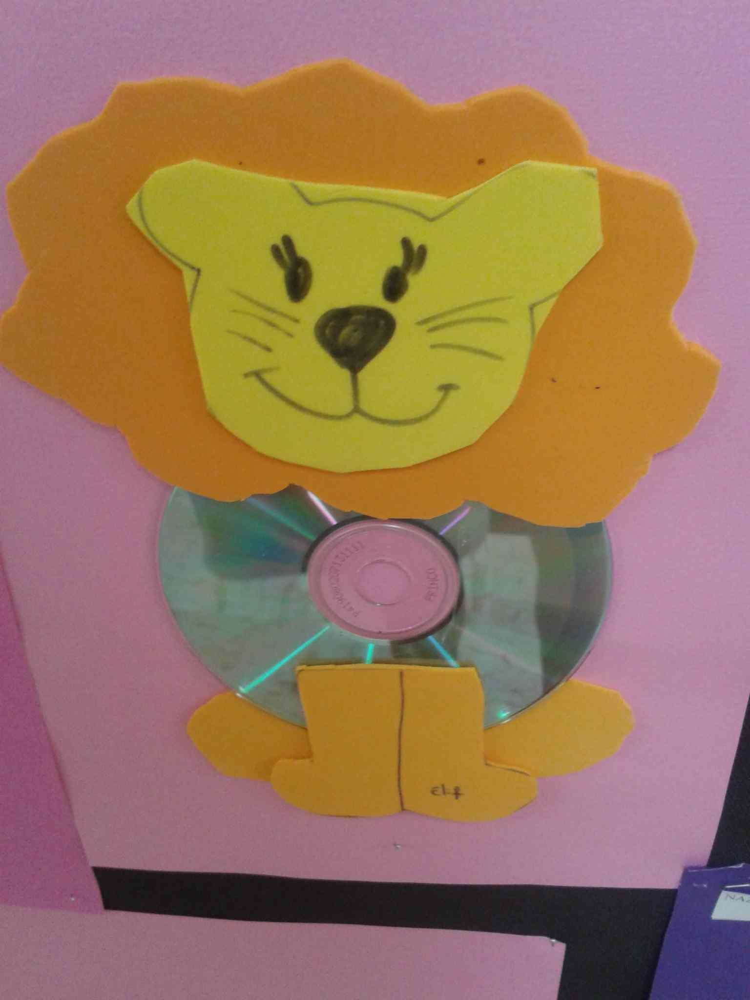 Lion Craft Idea For Kids Preschoolplanet