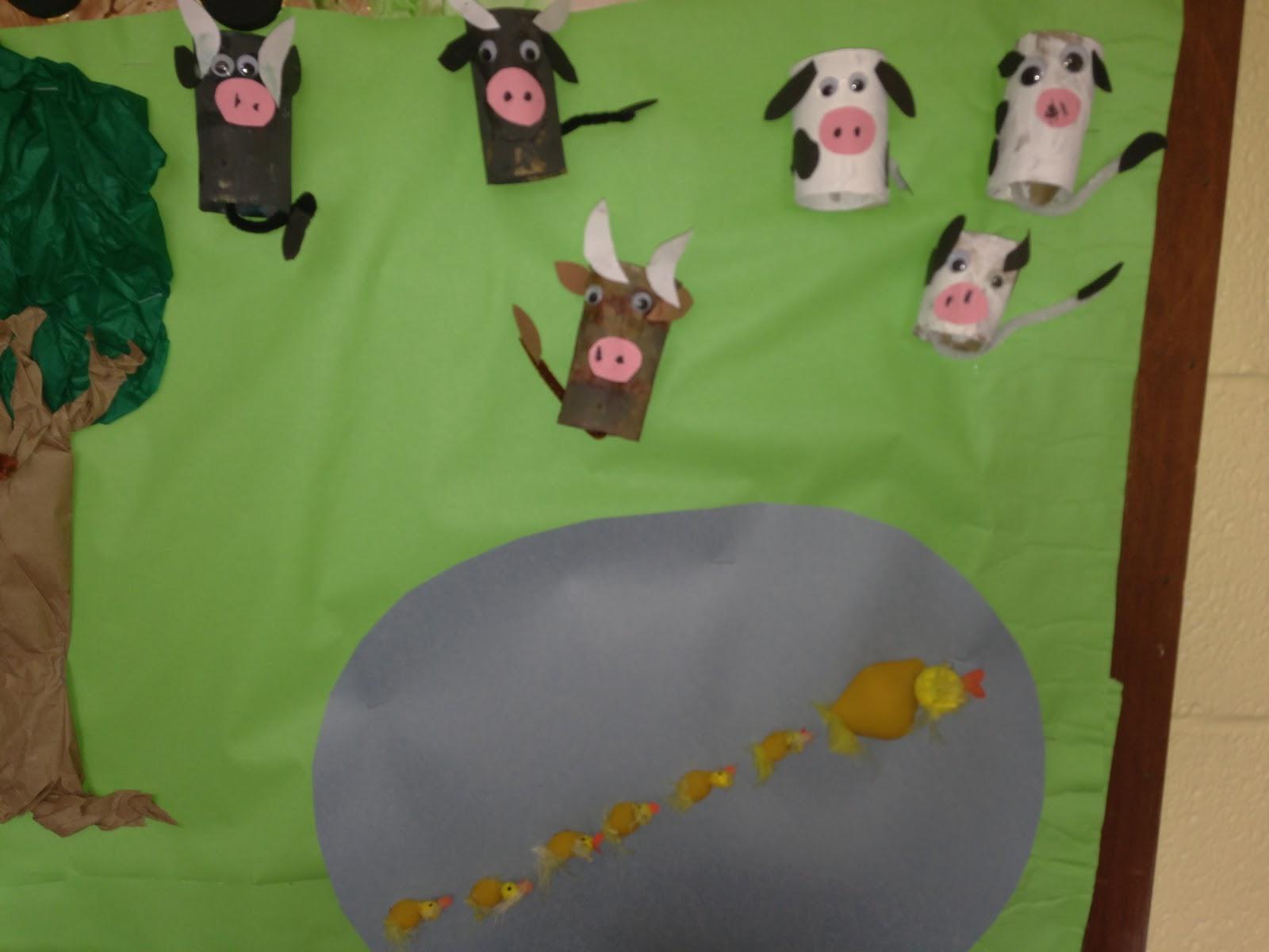 Farm Unit Bulletin Board Idea Preschoolplanet