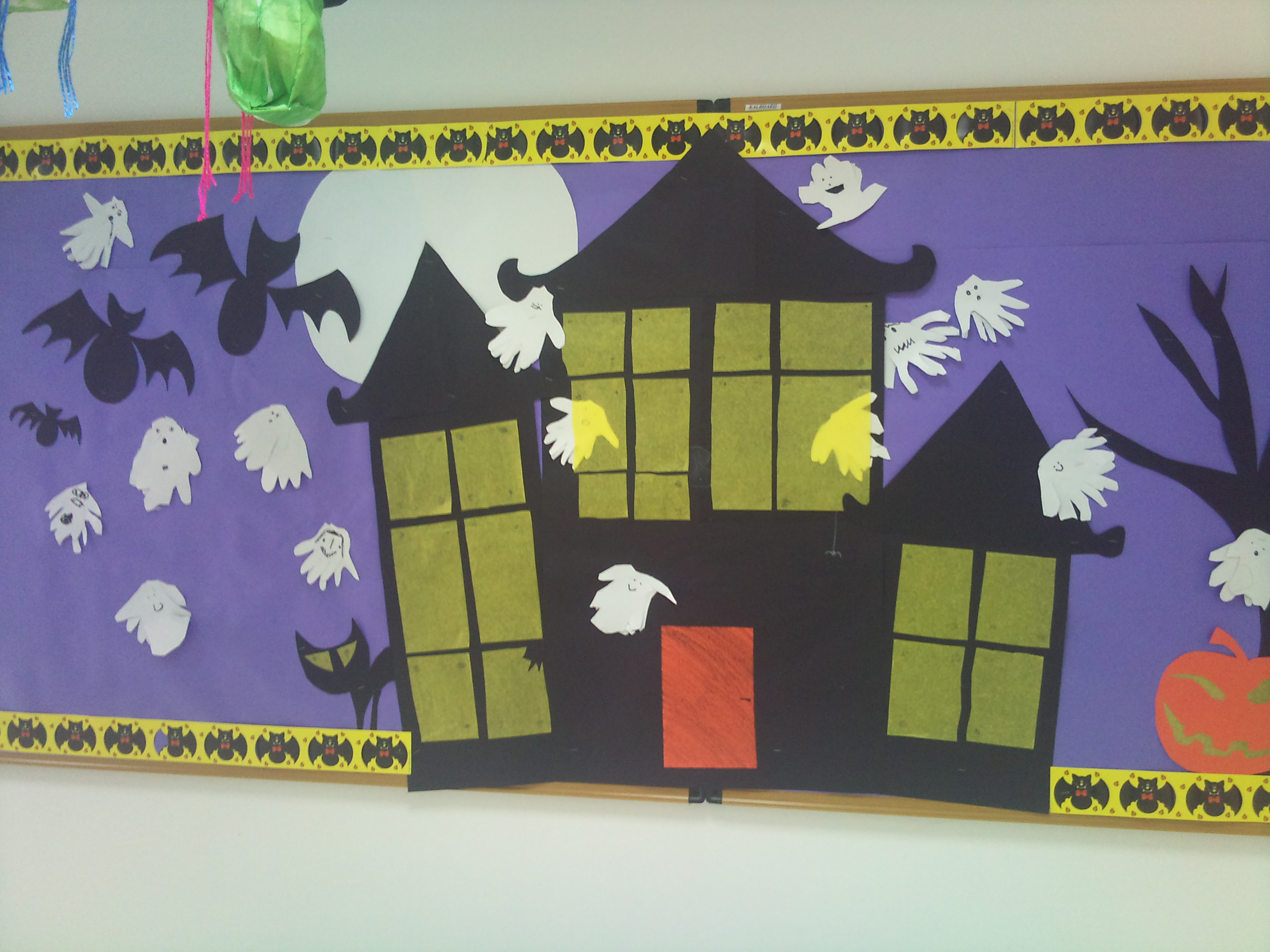 Haunted House Bulletin Board Idea Preschoolplanet
