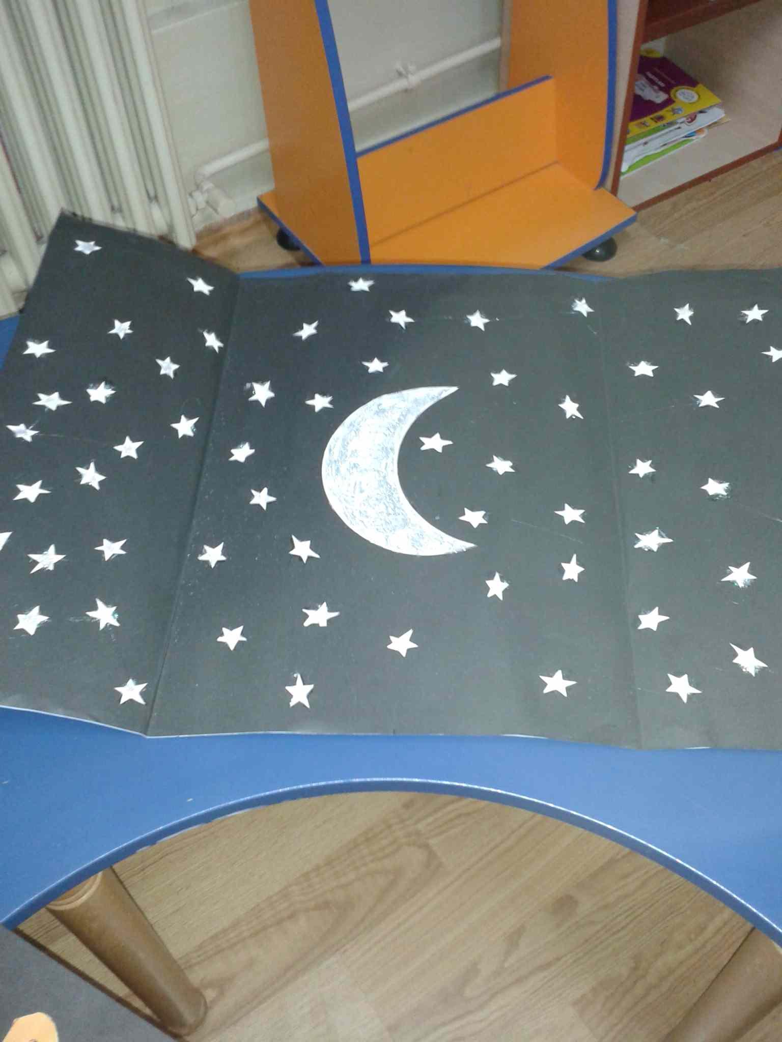 Moon Craft Idea For Kids Preschoolplanet
