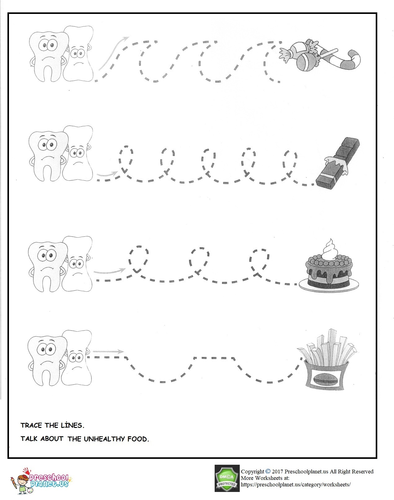 Preschool Worksheet Kidzone
