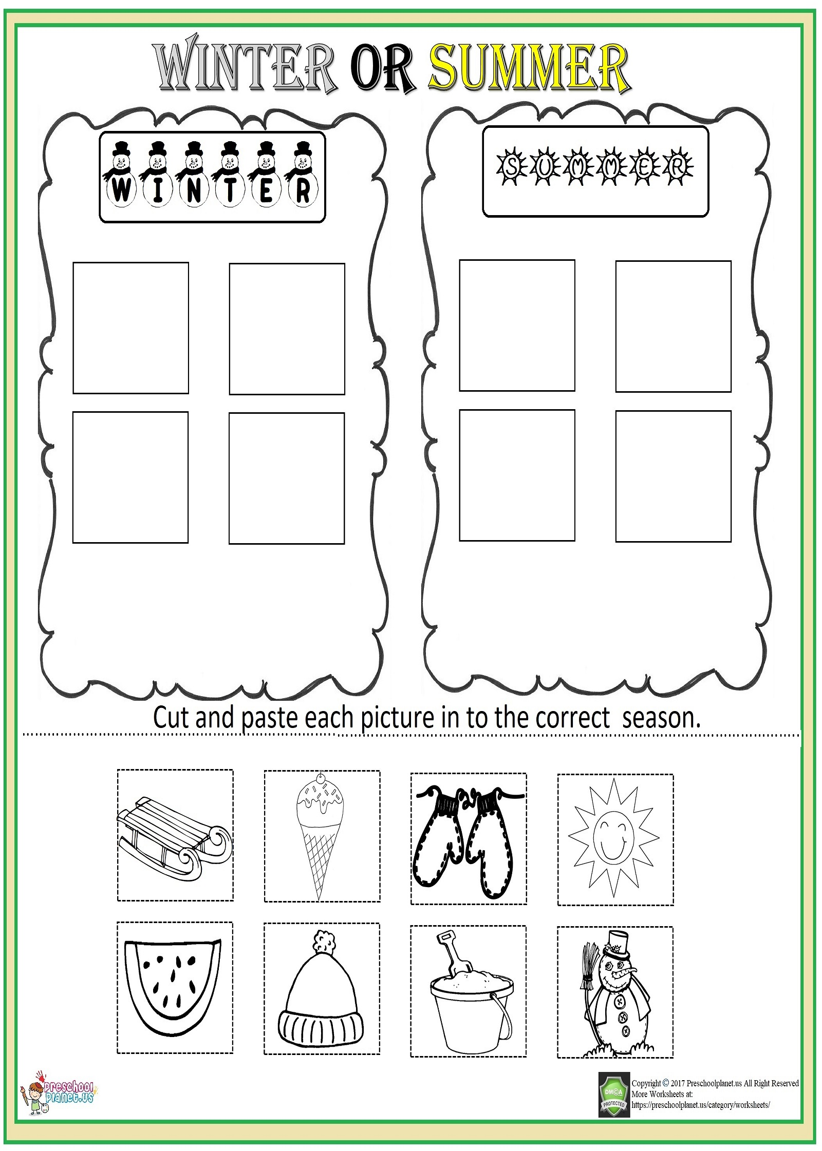 Easter Matching Worksheet Preschoolplanet
