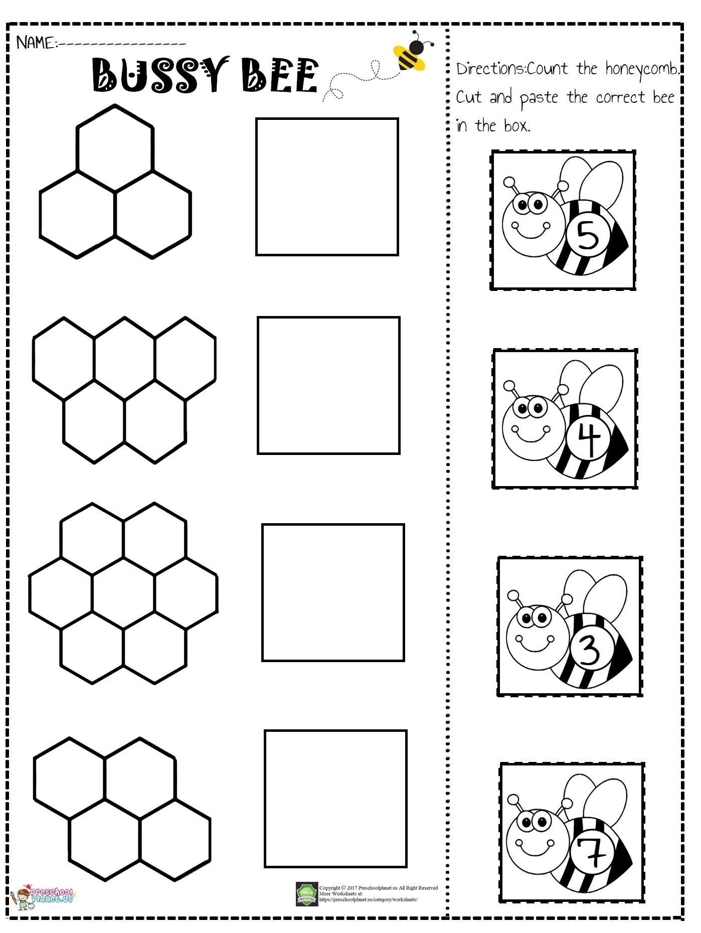Living Creatures Worksheet Preschoolplanet