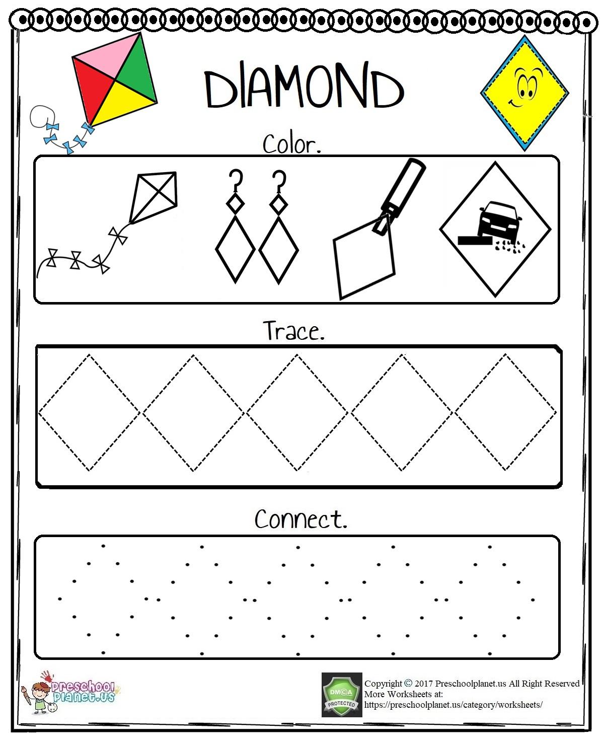 Printable Five Senses Worksheet Preschoolplanet