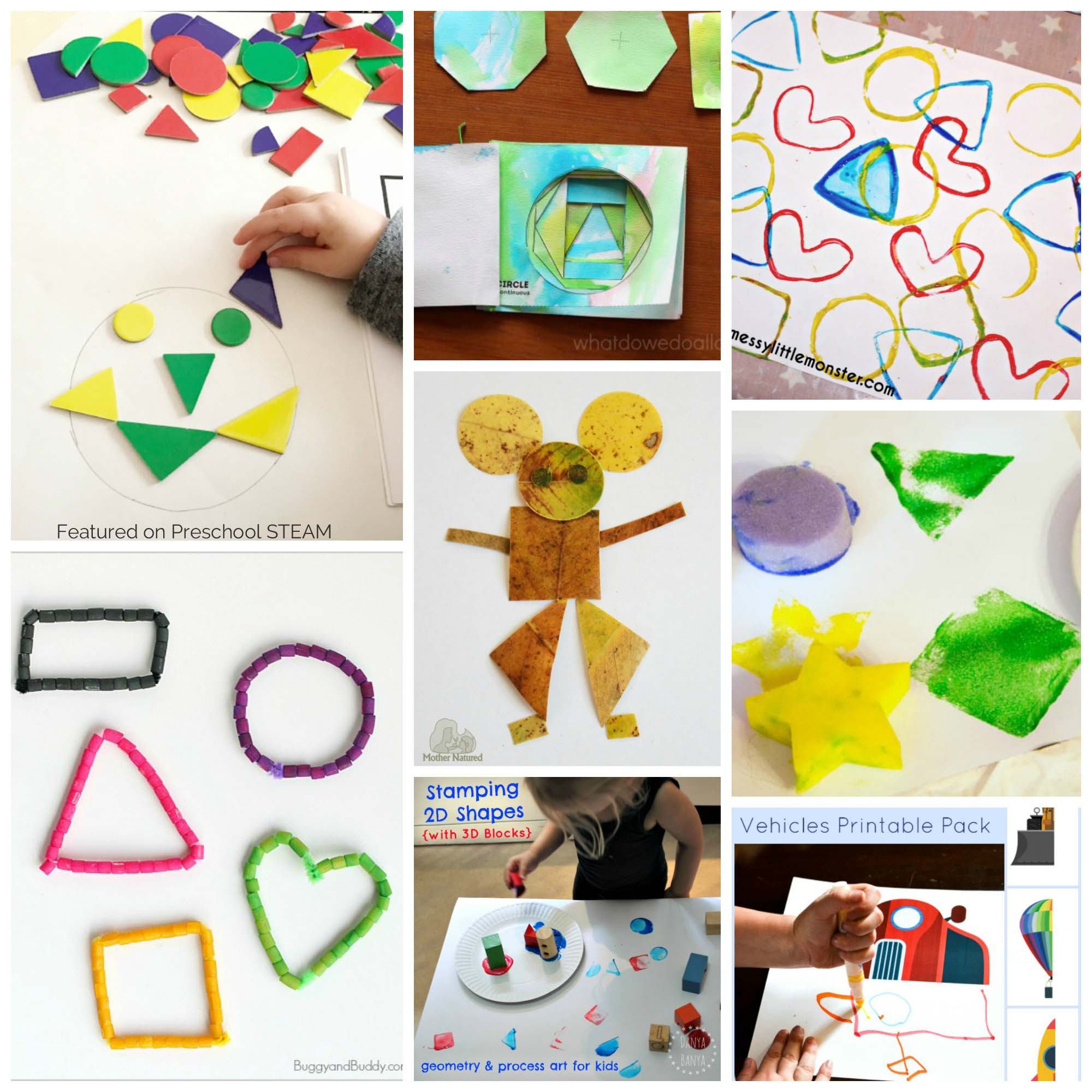 Easy And Fun Shape Activities For Preschoolers