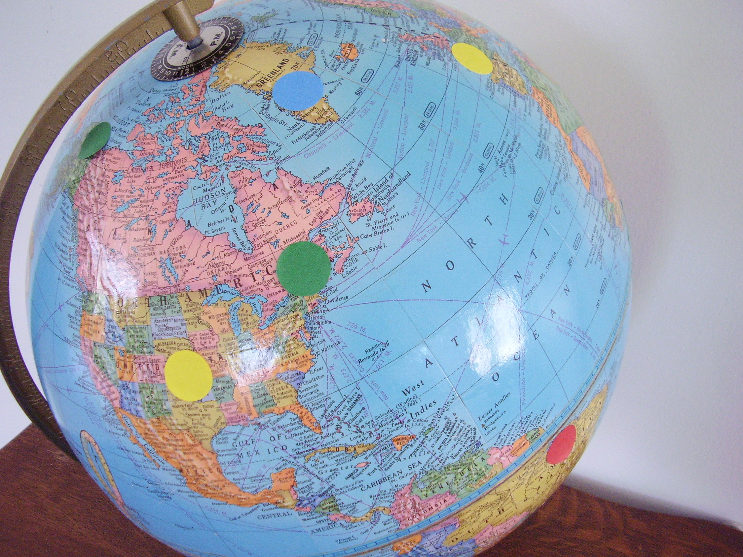 How To Use A Globe For An Earth Day Activity Preschool