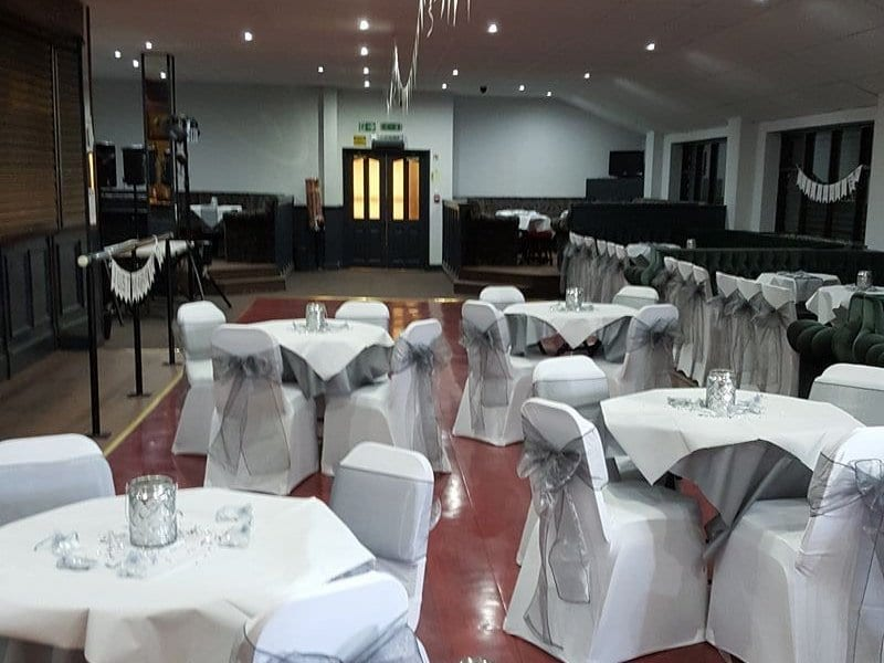 The Function Hall at Prescot Cables FC