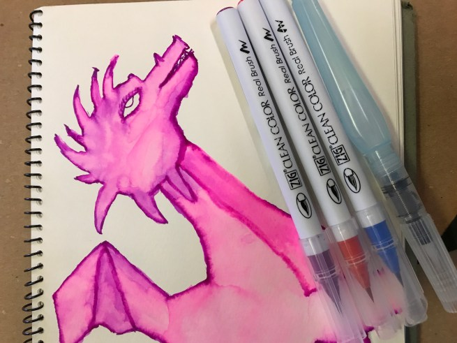 Product Spotlight: brilliant brush markers, new journals... dragons!