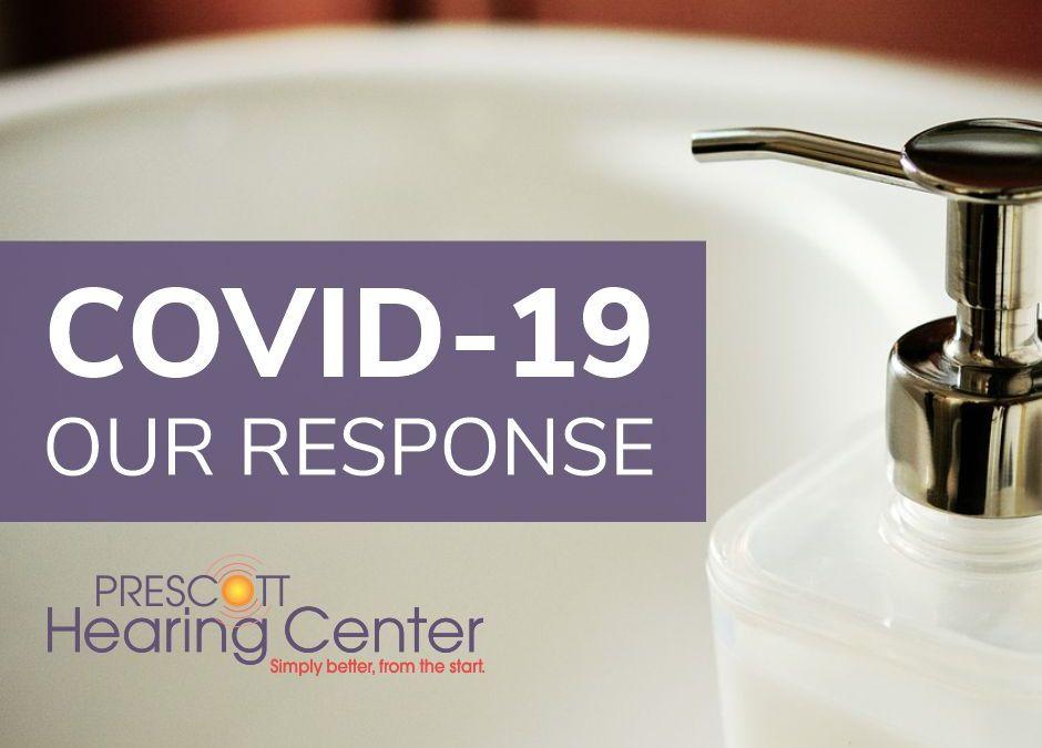 Prescott Hearing Center COVID-19 Response