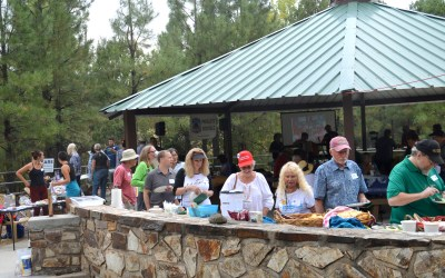 Prescott Indivisible 2nd Annual Picnic Outlasts the Rain