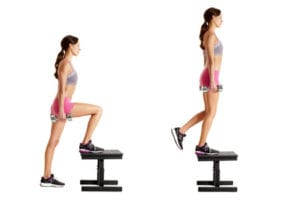 Image result for step up exercise