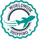 We Offer Worldwide Shipping