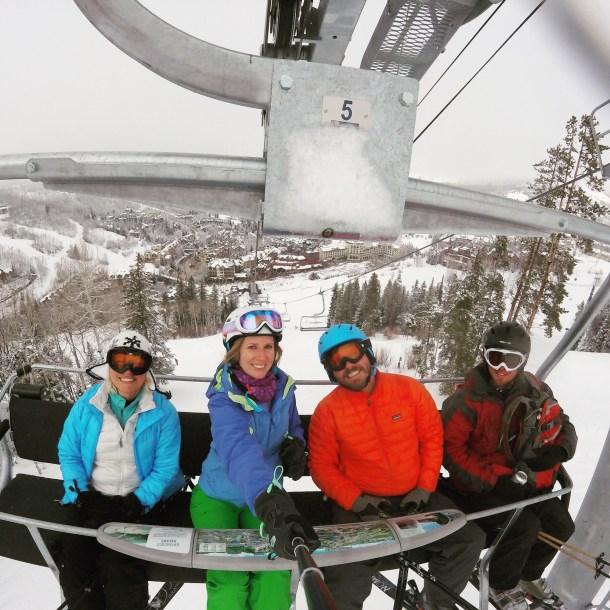 Ski lift skiing ski resort