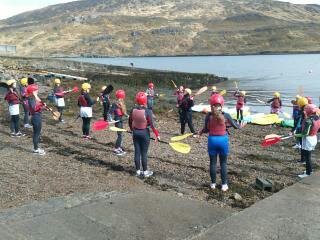 Second year student's trip to Killary Adventure Centre 2015