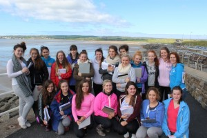 The Leaving Certificate Geography Field Trip  at  Liscannor