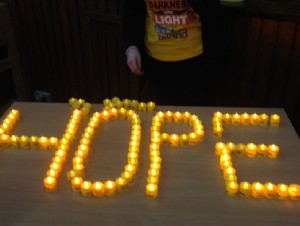 The Pieta House fundraiser 'Darkness into Light'