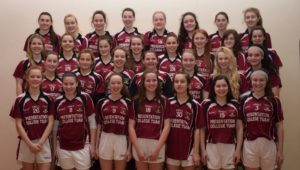 Our senior A team who are playing in the Connacht final, the very best of luck girls!