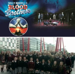 """A very memorable day was had by at the """"Blood Brothers"""" show in Dublin"""