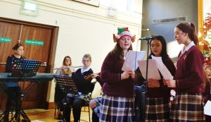 Students from 1st year to 6th year joined in song and prayer at our annual Christmas Carol Service.