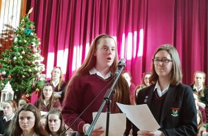 The angelic choir, talented musicians, wonderful soloists and lovely readers got us all in the Christmas spirit