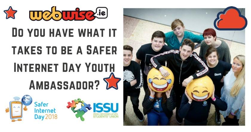 Safer Internet Youth Ambassadors Needed