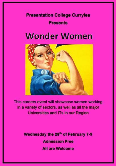 Wonder Women' careers event