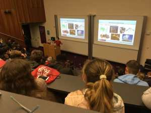 The girls enjoyed lectures in all areas of Engineering.