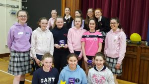 Some of the Buddies who organised the Easter Egg hunt for our First Years