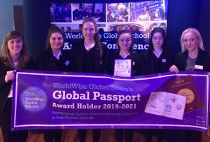 Congratulations to the Transition Years on receiving a WorldWise Global Schools Passport Award