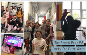 The Annual Prez PJ Party for First Years