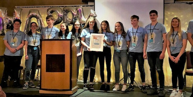 Congratulations to Last years TY students, Ciara McGuire & Emma Madden on their involvement in the creation of the Happy Head App for young people,