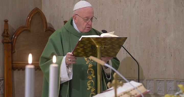 El Papa indica el camino que hay que recorrer para conocer a Jesús