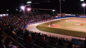 Estadio Concepción Pérez Alberto de Fajardo  durante la pasada temporada Doble A. (Foto / Suministrada)